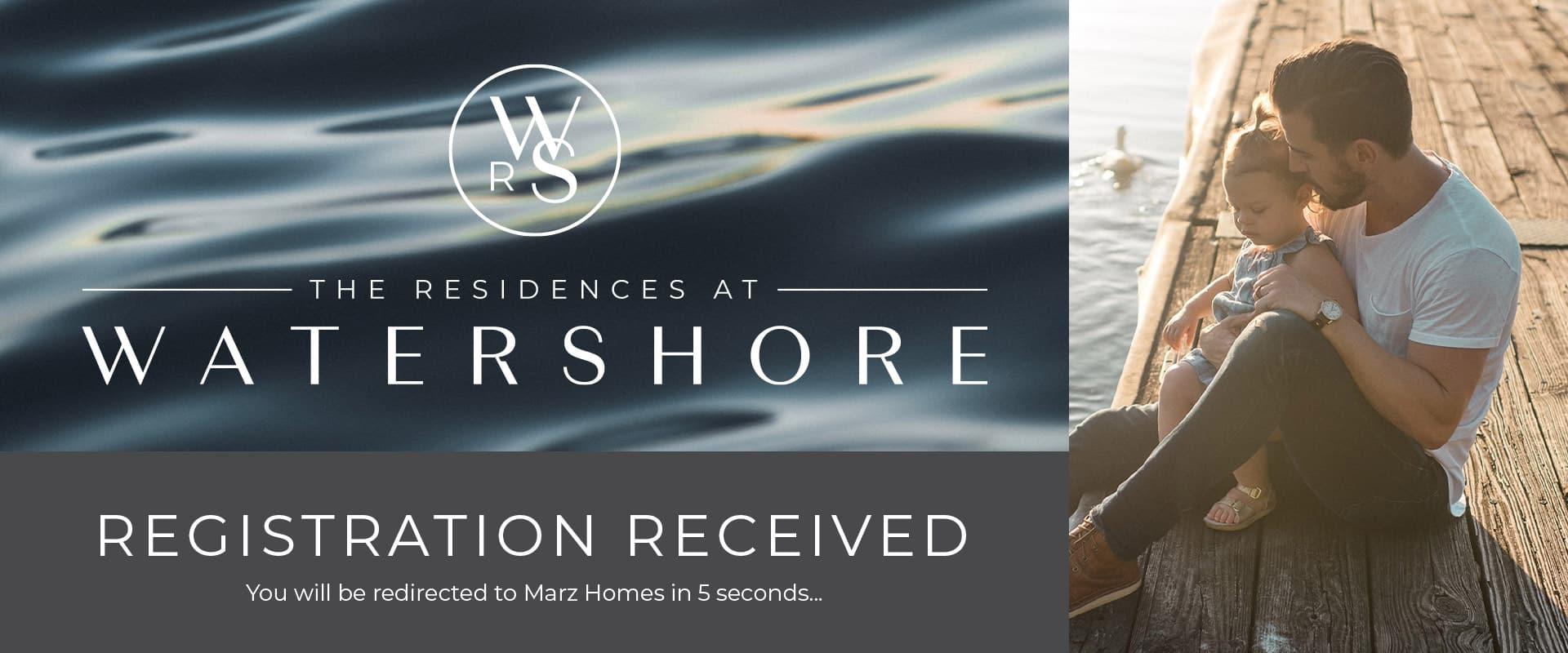Watershore Registration Received